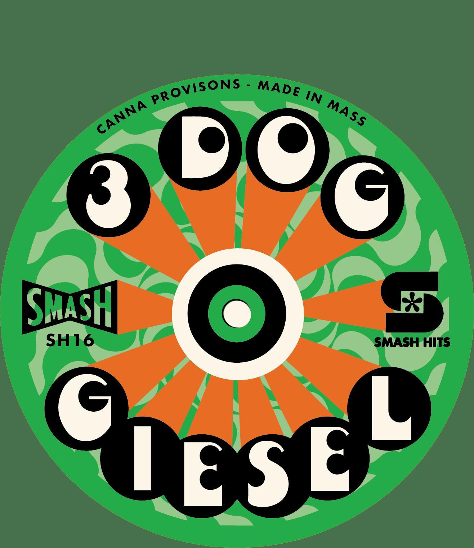 3 Dog Giesel smash hits chemdog canna provisions