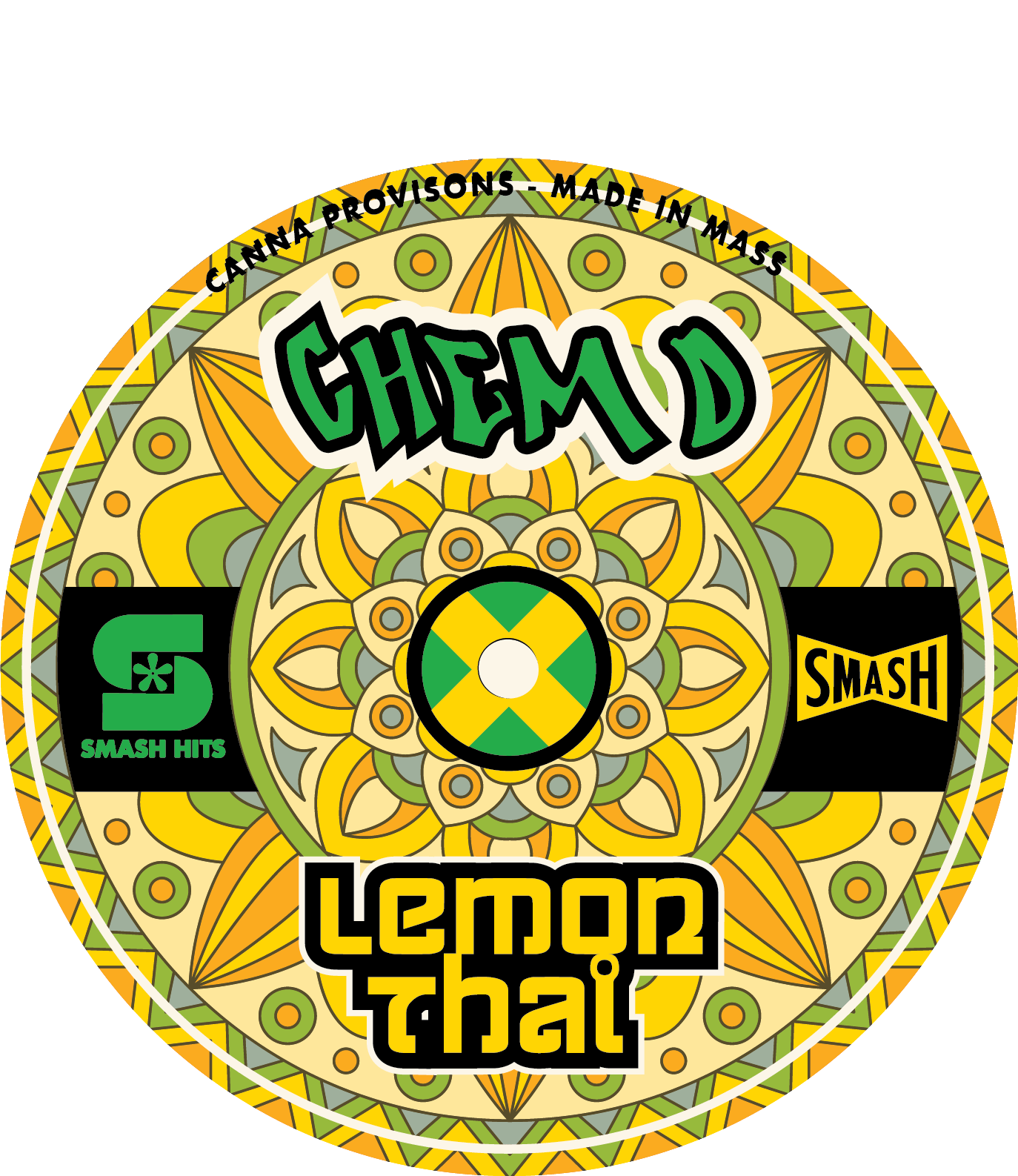chem d lemon thai smash hits chemdog canna provisions cannabis flower