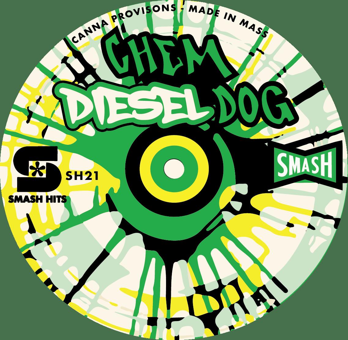 Chem Diesel Dog Chem D smash hits chemdog canna provisions