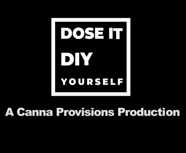 Dose It Yourself DIY canna provisions meg sanders