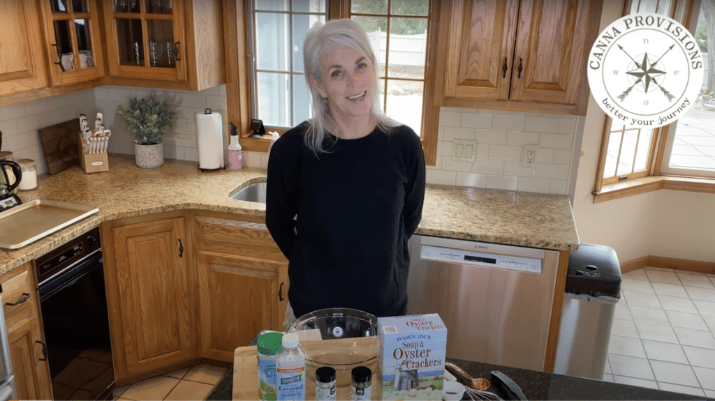 Canna Provisions CEO Meg Sanders Dose It Yourself DIY ranch oyster crackers
