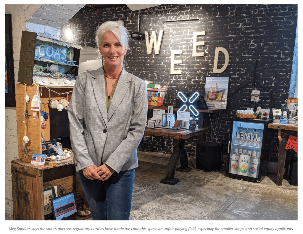 Meg Sanders CEO Canna Provisions BusinessWest challenges state and federal cannabis industry