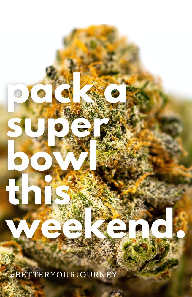 superbowl super bowl superbowl LV cannabis flower canna provisions